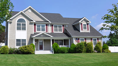 Maintained siding in Greenville